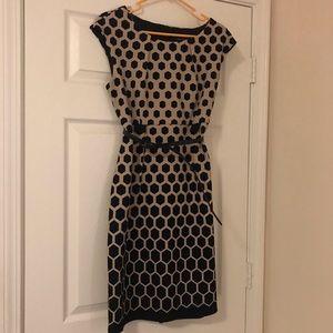 Honey Comb Print Dress